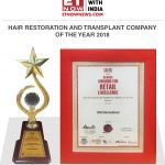 DHI International – Hair Restoration & Transplant Company of the Year 2018